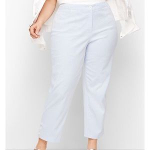 Talbots - Perfect Crop Pants Curvy Fit